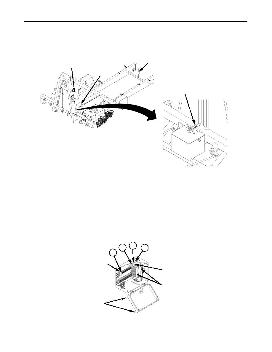 description of circuit breaker  winch relays  and